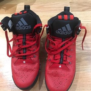 02473311462 adidas Shoes - D Rose 6 Boost All-Star (Red) - sz 10.5